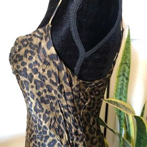 Zara Dresses - NEW Zara coveted cheetah print slinky dress
